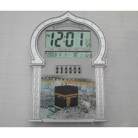 Auto Muslim Azan Clock With Qibla Direction