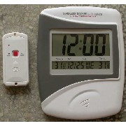 Cordless Doorbell & Clock ( Indoor & Outdoor Dual Thermometer )