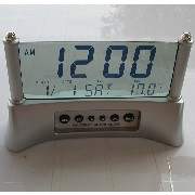 Transparent Jumbo Digital Clock