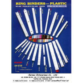 STATIONERY (office supply): Ring Binder Clip (plastic) (КАНЦЕЛЯРСКИЕ ТОВАРЫ (оргтехника): Ring Binder Clip (пластик))