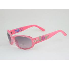 Plastic sunglasses~engraved 3D flower (Kunststoff-Sonnenbrillen ~ graviert 3D-Blume)