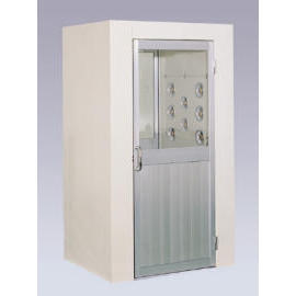 air shower (douche à air)