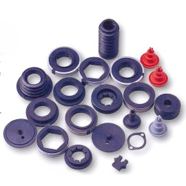 SILICONES RUBBER INDUSTRIAL PARTS