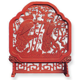 WOOD CARVED SCREEN