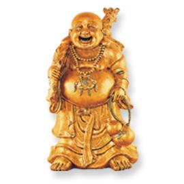 FIBERGLASS LUCKY BUDDHA