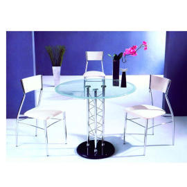 Metal dining table&chair