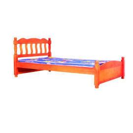 Wooden bed (Деревянная кровать)