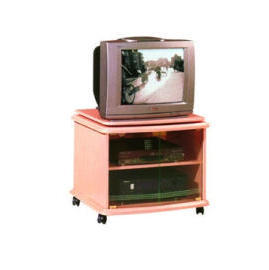 Wooden TV Stand (Деревянный стенд с ТВ)