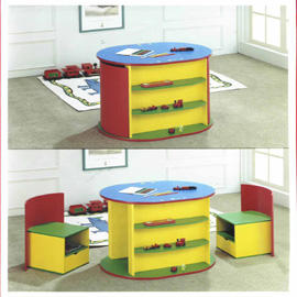 Wooden Children table set