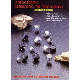 Piezocermaic Ultrasonic Air Transducers (Piezocermaic Ультразвуковые датчики воздух)