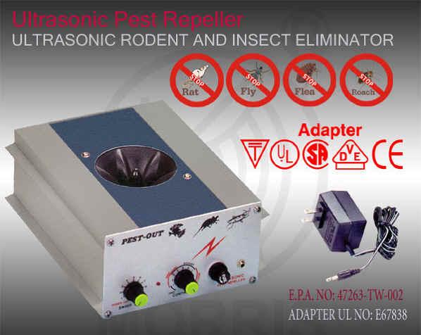 Ultrasonic Pest Repeller (Ультразвуковой Отпугиватель Pest)