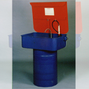 TC-004, TC-004A 30 Gallon Electric/Air Drum Type Parts Washer (TC-004, TC-004A 30 галлонов Electric / Air Drum деталей типа Стиральная машина)