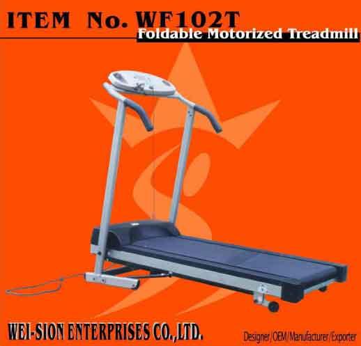 Foldable Motorized Treadmill(sport good and fitness equipment) (Складной моторизованной бегущая (спорт и фитнес хорошее оборудование))