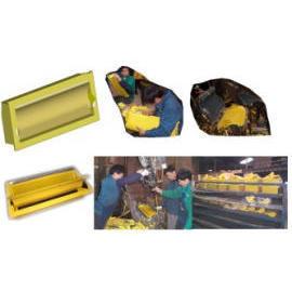 Polyurethane foaming, PU foaming, Foam, Air Ventilation, Ventilation Duct, New P (Полиуретановая пена, ПУ пена, пена, вентиляция, вентиляционный канал, Нью-P)
