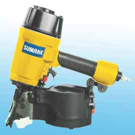 WIRE/PLASTIC-COLLATED AIR COIL NAILER