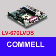 LV-670LVDS Industrial Pentium 4 Mini-ITX Mainboard