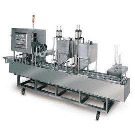 Fully Automatic Cup /Tray Filling & Sealing Packaging Machine