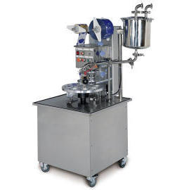 Automatic Rotary Type Cup /Tray Filling and Sealing PackagingMachine