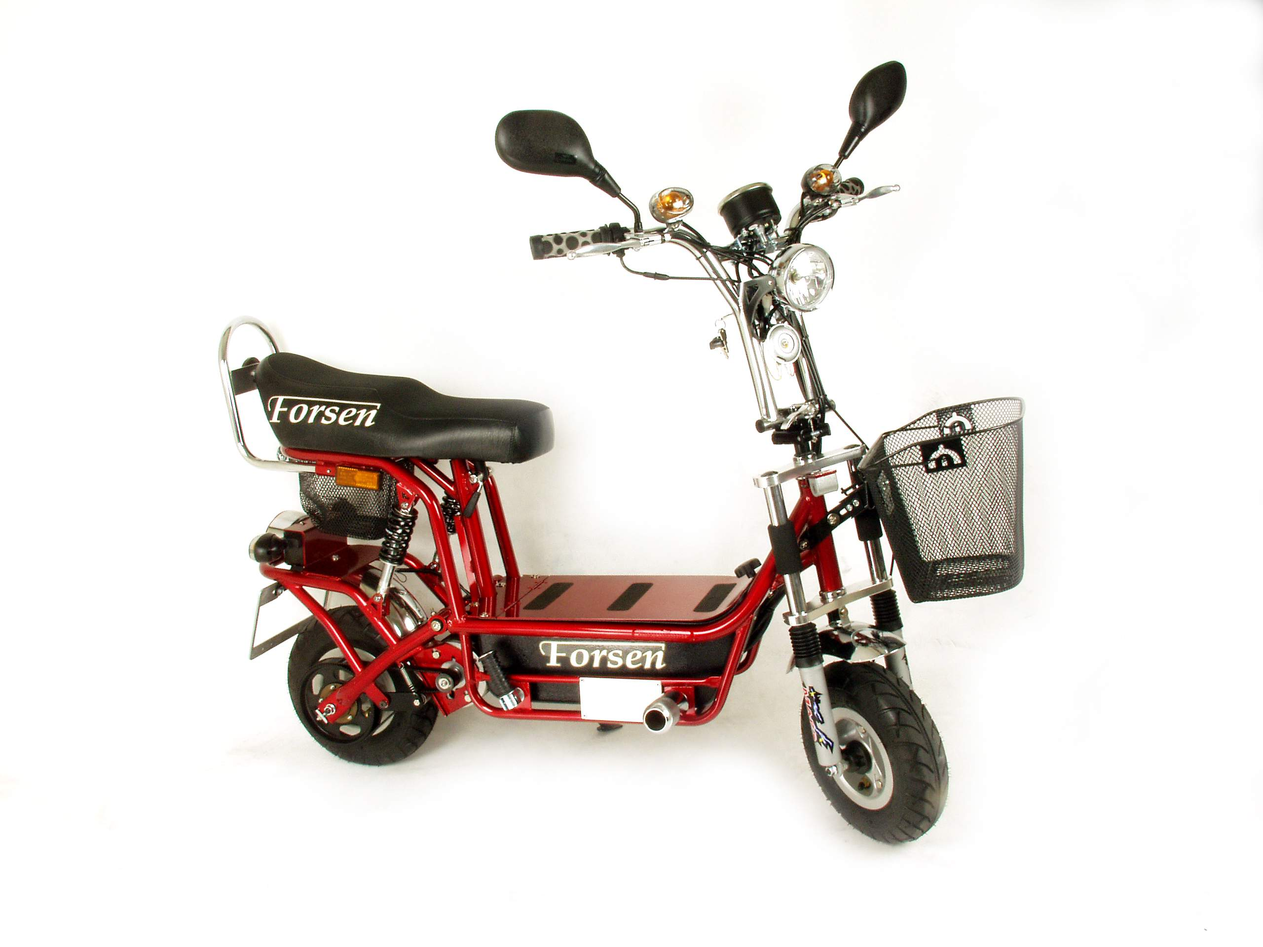 Forsen US DOT & Europe E Mark Approval Heavy Duty Electric Moped