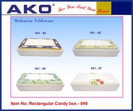 Melamine Candy Box 041-80 (Меламин Клан 041-80)