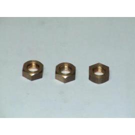 Brass Hex nuts (Ecrous hexagonaux en laiton)