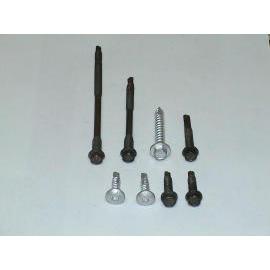 Screw, self drilling fastener (Vis, fermeture auto-perforantes)