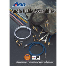 Audio & Video (Hi End) Cable Assemblies (Audio & Video (Salut End) de câbles)
