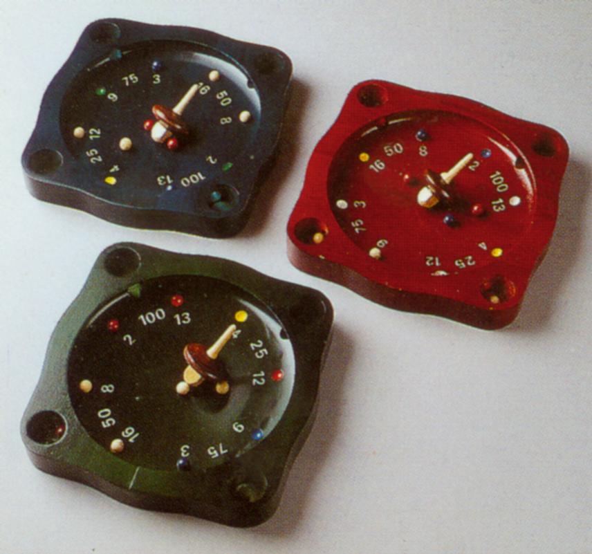 wooden tyrolean roulette set