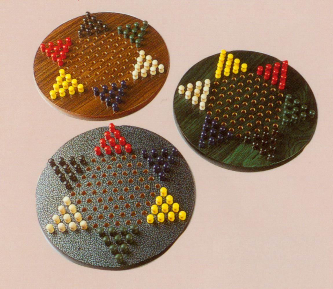wooden Chinese checker set (деревянная китайских проверки набор)