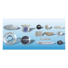 Metallic Name Plates (Тарелки металлические Имя)