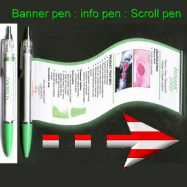 Banner Pen,Flag Pen,Info Pen,Scroll Pen,Promotional Advertising Ball Point Pen (Баннер Пен, флаг Пен, информация Пен, выделите Pen, презент-реклама Шариковая ручка)