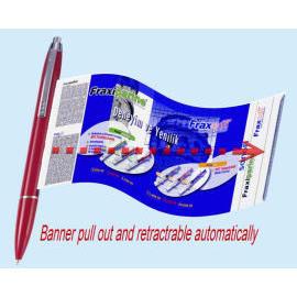 Banner pen info-pen Scroll pen (Баннер пера Info-пер Выделите пера)