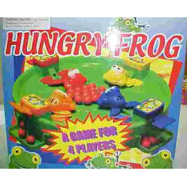 PLASTIC HUNGRY FROG GAME
