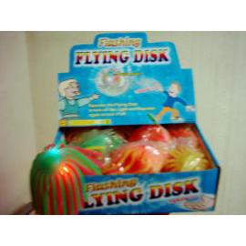 Flashing fly disk (Blinkt fly disk)