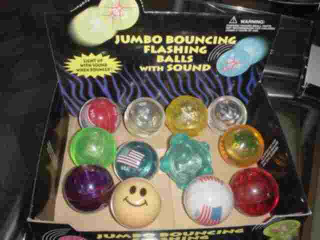 Bounging Ball,BOUNCING BALL WITH LIGHT,INSIDE BALL CAN PRINTING COLOR (Bounging Ball, springenden Ball mit Licht, INSIDE Ball kann Druckfarbe)