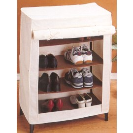 CANVAS SHOE WARDROBE