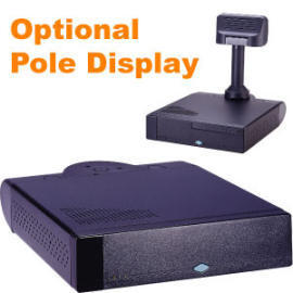 VIA Eden Low Power POS PC, Optional with Pole Display