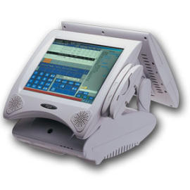 Pentium III 12.1`` Dual Display Touch POS System (Pentium III Dual 12,1``сенсорным дисплеем POS-терминалов)