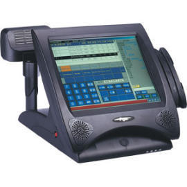 Low Power 12.1`` Fanless Touchscreen POS System (Low Power 12,1``Fanless сенсорный POS-терминалов)