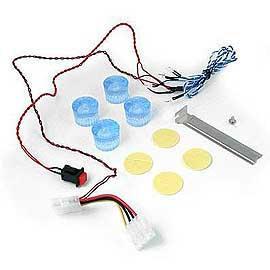 PC footstep, LED footstep, PC accessories (PC подножки, светодиодные подножки, комплектующие ПК)
