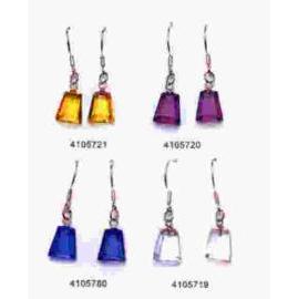 Square earring (Площадь серьгу)
