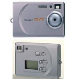 850K pixel multi-mode digital camera - Smaller than credit card in height & leng