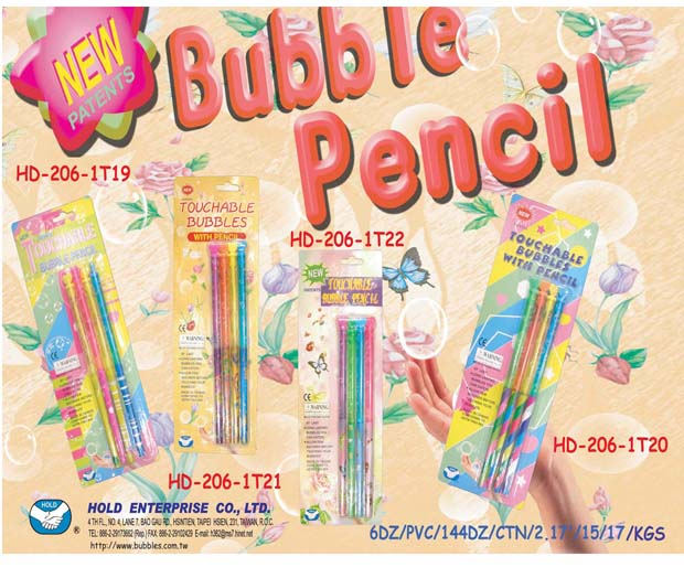 Touchable Bubble Pencil
