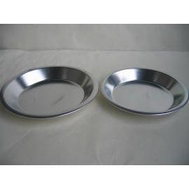 Pie dish , aluminum , kitchenware , cookware (Pie dish , aluminum , kitchenware , cookware)