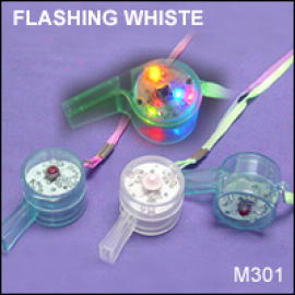 FLASHING WHISTE