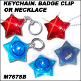 KEYCHAIN BADGE CLIP OR NECKLACE (KeyChain ЗНАКОМ CLIP или ожерелье)