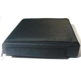Leather PU DVD Player Case Bag