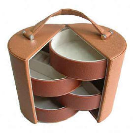 Leather PU Jewel Case Box