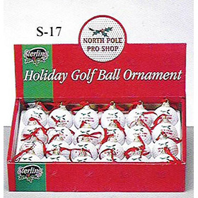 Urlaub Golf Ball Ornament (Urlaub Golf Ball Ornament)