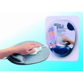 Gel Mouse Pad with SBR Embossed Skin backing/Gel mouse pad/Wrist Rest/Mouse mat